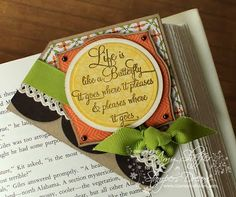 Corner Book Marke designed by Amy Sheffer