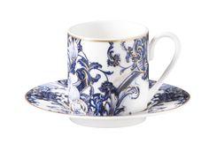 Azulejos Coffee Cup | Roberto Cavalli Home #RobertoCavalliHome #luxurytableware #RobertoCavalliHomeInteriors #KingsofChelsea #Interiors #InteriorsStylist #Fashion #Style #Lifestyle #DesignInspiration #Design #RobertoCavalli #RobertoCavalliInteriors #DesignBlog #InteriorsBlog #InteriorDesign #FurnitureDesign