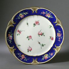 Sèvres Porcelain Manufactory (France, founded 1756) , Jean-Nicolas Le Bel (France, active 1772 - active 1793)   Salad Bowl, 1771  Ceramic, Porcelain with enamel, gilding, and glaze