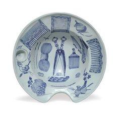 A Delft barber's bowl.