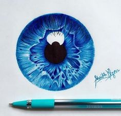Image about art in drawing by on We Heart It Discover . - Image about art in drawing by on We Heart It Discover and share the most - Cool Art Drawings, Pencil Art Drawings, Realistic Drawings, Art Drawings Sketches, Colorful Drawings, Arte Lowrider, Eyes Artwork, Color Pencil Art, Anime Eyes
