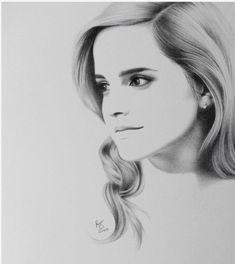 Emma Watson dessin
