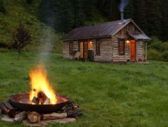 dunton hot springs cabin resort well house Luxury Resort Uses Cabins for Guests to Stay Secluded Cabin Rentals, Luxury Cabin, Cabin In The Woods, Little Cabin, Log Cabin Homes, Log Cabins, Mountain Cabins, Cabins In The Mountains, Rustic Cabins