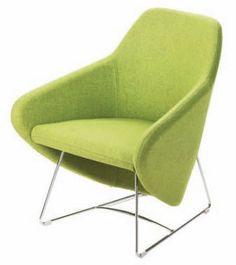 contemporary sled base armchair TAXIDO by Carlo Bimbi Design SEGIS