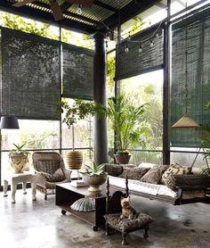 Ideas para conectar interiores y exteriores #decoracion #exteriores #interior #HomeDecor #Garden #InteriorDesign
