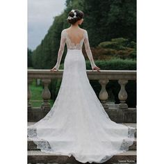 Sareh Nouri Fall 2016 Wedding Dresses Lookbook ❤ liked on Polyvore featuring dresses and wedding dresses