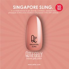 SG50 Limited Edition QTTiE GELLY named after the famous icons of Singapore. Get yours now at our online shop: www.qttie.com