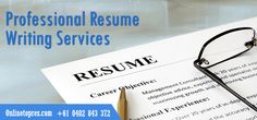 We are Australia's leading providers of Resume writing services, with thousands of satisfied clients across all industries. We help you to win your dreaming job in affordable price.