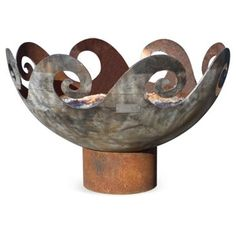 """Check out this item at One Kings Lane! 37"""" Waves O' Fire Firebowl"""