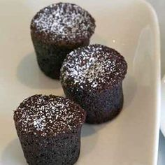Thomas Keller's Chocolate Bouchons (Bouchons au Chocolate). Very french and good with vanilla ice cream