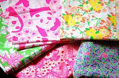 Vintage Lilly Pulitzer Fabric