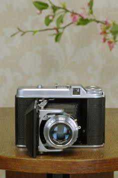 Superb! 1952 6x6 Voigtlander Perkeo II with Color-Skopar Lens, FRESHLY SERVICED! #Voigtlander