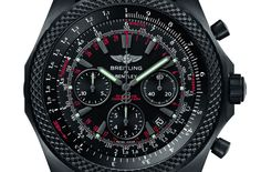 Breitling for Bentley Light Body Midnight Carbon Chronograph - Monochrome Watches