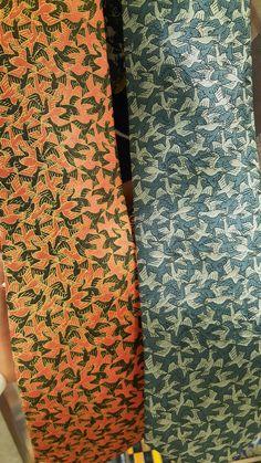 Artist ties! Escher! Frank Lloyd Wright too!