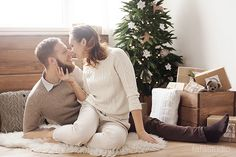 Новогодняя фотосессия от Fafastudio. Christmas couples photography. #Fafastudio #Photoshoot #Christmas #photography