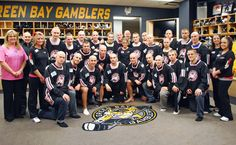 "It has become a tradition for members of the Green Bay Gamblers to ""take a little off the top"" as a part of the team's ""Caps for Cancer"" game to raise cancer awareness.  Over the last seven years, Green Bay Gamblers fans have thrown 17,149 hats onto the ice."