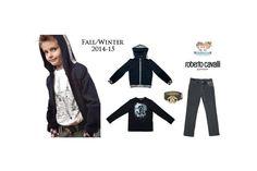 Fall/Winter 2014-2015 Fashion Trends from #RobertoCavalli Junior.  Discover at: www.kidsandchic.com/boy   #boysclothing #boysfashion #kidsfashion #trendychildren #shoponline #shoppingbarcelona #backtoschool #vueltaalcole
