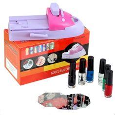 DIY nail art kit varnish color printing machine (tslr0021)-BDY947
