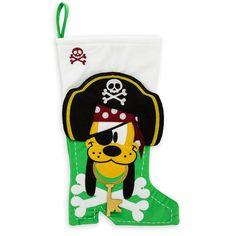 Pluto Pirate Holiday Stocking