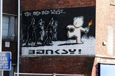 Of course. The classic Banksy.