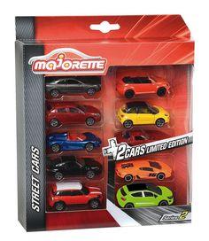 """8 véhicules #Majorette """"classiques"""" + 2 véhicules totalement exclusifs, aux couleurs """"Néons""""! #véhicule #voiture"""