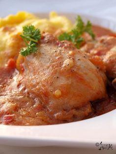 reteta ostropel,pui,carne,sos,polenta,mamaliga