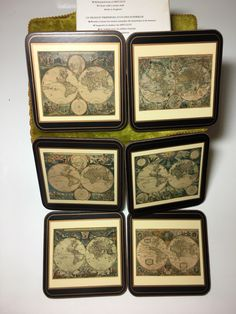 A personal favorite from my Etsy shop https://www.etsy.com/listing/497650647/6-vintage-coasters-depicting-antique