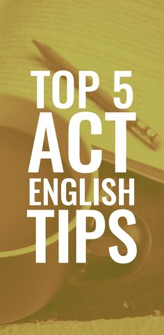 You should not neglect studying for the ACT English and we're here to help with some top ACT English tips that will help guide your ACT test prep. High School Hacks, My High School, High School English, The New School, Act Test Prep, Ap Test, Test Preparation, Act English Tips, Scholarships For College