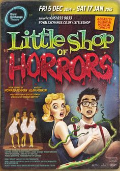 Little Shop Of Horrors, Horror Films, Silhouette Projects, Musical Theatre, Musicals, Pin Up, Comedy, Books, Movies