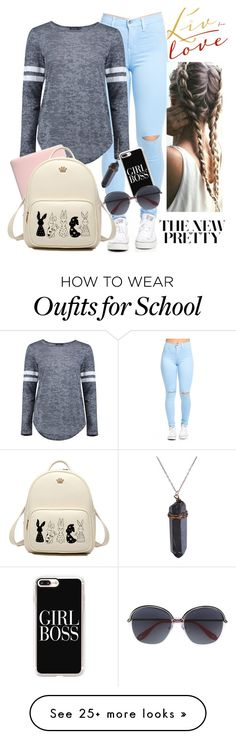 """Looking Cute On A School Day"" by runnergirl-ab on Polyvore featuring Boohoo, Incase, Casetify and Givenchy"