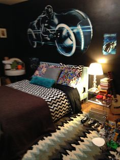 Extreme makeover home edition tron bedroom decor