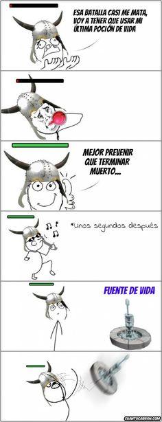 Típico dilema en los videojuegos (#meme)