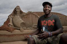 ACDC - South African sand art - Samora Chapman