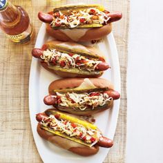 Meal In a Bun: 15 Best Hot Dog Ideas -Grilled Reuben Dogs