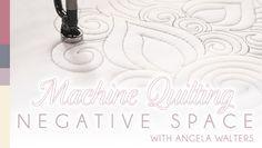 Machine Quilting Negative Space Online Class  http://www.craftsy.com/class/machine-quilting-negative-space/112?ext=20130112_1_FB_quilting_club_5_source=Google-FB_quilting_club_medium=Class_Promo#