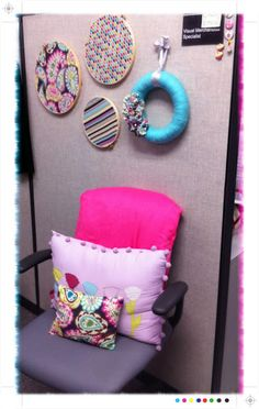 More ideas for decorating your cubicle.