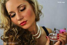 Makeu and hair: Maťka Gálová Fotograf: Marek Jarosi Model and styling: Viktória Kundrová Hoop Earrings, Makeup, Artist, How To Make, Jewelry, Fashion, Maquillaje, Jewellery Making, Maquiagem