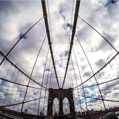 #newyork #ny #brooklyn #brooklynbridge #sky #clouds #usa #us #pic #instagram #picoftheday #urban #art #architecture #travel #travelgram #world #city #cityscape #traveller #likeforlike #l4l #likeforfollow #followforfollow #cool #nice #