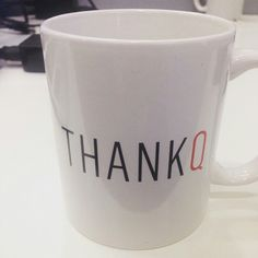 Qantas THANK Q coffee cup @thetweedie