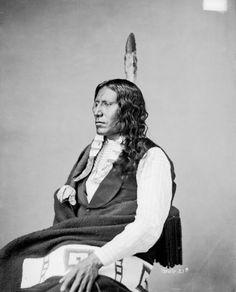 WHITE THUNDER , 1872