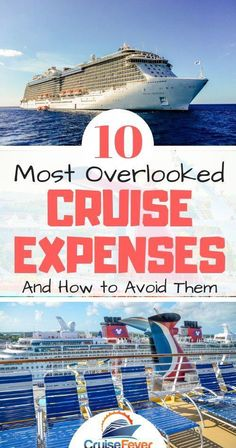 Want to save money on your next cruise? Watch out for these top 10 cruise expenses that can double or triple your bill at the end of the cruise vacation. Avoid cruise shock with a few helpful tips to Packing List For Cruise, Cruise Travel, Cruise Vacation, Cruise Checklist, Disney Cruise, Vacations, Europe Packing, Traveling Europe, Vacation Deals