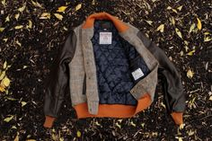 Kith NYC x Harris Tweed Outerwear Collection by Golden Bear