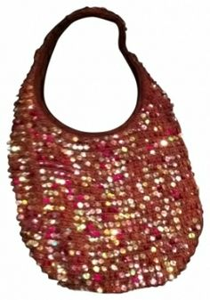 Lilu Arm Candy! Sequin Sac Hobo Prom Boho Bling Tote Shoulder Bag $19 with FREE SHIPPING    Perfect office party bag.  www.Tradesy.com     Closet of Laurie B.  GREAT ITEMS UNDER 25 BUCKS!!!