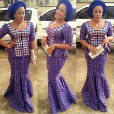 Hello Divas, check out Super Stylish Ankara Skirt and Blouse Styles for Beautiful Ladies.here are the trendious collection of ankara skirt and blouse styles for African Dresses For Women, African Print Dresses, African Print Fashion, African Attire, African Wear, African Women, African Prints, African Style, African Outfits