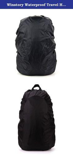 852a9c60f423 Winstory Waterproof Travel Hiking Outdoor Sport Backpack Camping Dust Rucksack  Rain Bag Cover 30-40L. Package Included  1x Rucksack Rain Bag Cover 30-40L.