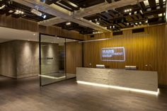 Mars Entertainment Group office by Geomim, Istanbul Turkey office 2 Interior Design Companies, Office Interior Design, Office Interiors, Restaurant Interiors, Office Designs, Office Ideas, Visual Merchandising, Cool Office Space, Glass Office