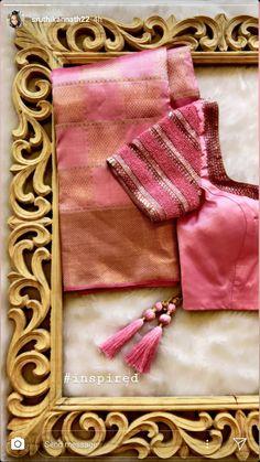 Pattu Saree Blouse Designs, Blouse Designs Silk, Saree Blouse Patterns, Designer Blouse Patterns, Hand Work Blouse Design, Blouse Models, Engagement Saree, Dress Shoes, Shoes Heels