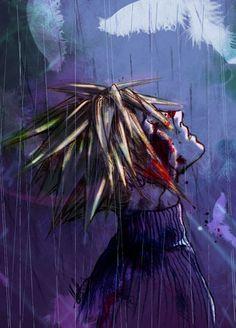 Cloud Strife. Final Fantasy VII. Fan art.