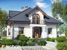 Dom w tymianku 10 (P) Design Case, Home Fashion, House Plans, Mansions, Interior Design, House Styles, Garden, Kitchens, Houses