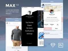 MAX UI Kit by Bymax on @creativemarket